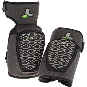 Lift Safety KP2-0K Textureed Knee Pads