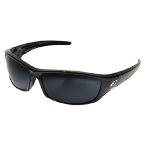 Wolf Peak TSR21-G15-7 Reclus Protective Eyewear, Polarized, Gloss Black Frame/Silver Mirror Lens