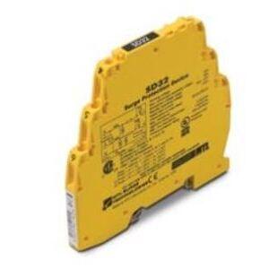 Cooper Crouse-Hinds SD32R Terminal Block, Surge Protector, 32VDC, 22VAC, 400mA, High Bandwidth
