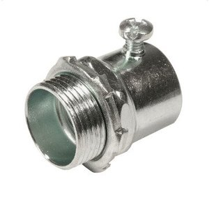 "Thomas & Betts HC-106 Rigid Set Screw Connector, Size: 2"", Steel/Zinc"