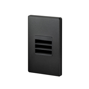 Juno Lighting LMS-30K-LVR-120-RPC-BL JUN LMS-3K-L-BL LOUVER STEP, BLACK,