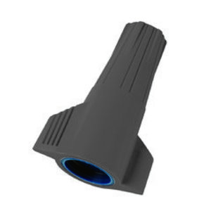 Ideal 30-1066 Wire Nut Connector, Underground Rated, 14 - 6 AWG, Non-Metallic, Gray