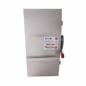 Eaton DH464UWK Safety Switch, 20A, 600VAC, 250VDC, 4P, Non-Fusible, NEMA 4X