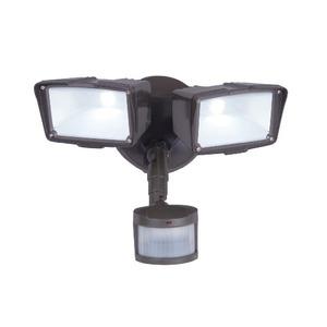 All-Pro Lighting MST27920LES Flood Light, LED, Motion Sensor, 31W, Bronze