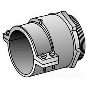 "OZ Gedney KC-350 AC/MC/Flex Connector, Type: 2-Screw Clamp, Size: 3-1/2"""