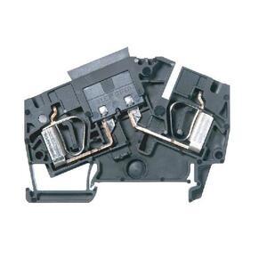 Allen-Bradley 1492-LAFB6 Terminal Block, 30A, 300V AC/DC, for Auto Style Fuse, Black,2.5mm