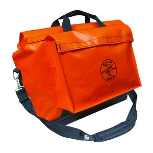 Klein 5181ORA Large Vinyl Equipment Bag - Orange