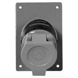 Appleton ENR5201 Factory Sealed Receptacle Cover Assembly, 20A, 125VAC