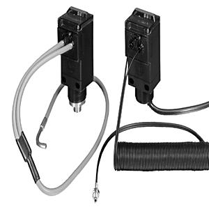 "Allen-Bradley 43GR-TBB25ML Fiber Optic Cable, Glass, Diffuse, Brass Sensing Tip, 36"""