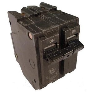 GE Industrial THQL2115 Breaker, 15A, 2P, 120/240V, 10 kAIC, Q-Line Series