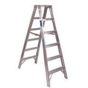 Werner Ladder T376 Aluminum Twin Stepladders