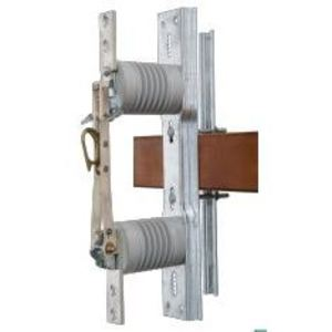 S&C ELECTRIC 14822E Cut-Out Switch, Non-Fused, Porcelain, 14.4kV, 900A, Station Vertical