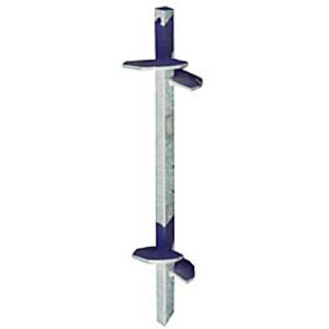 A.B. Chance 012642-AE Lead Anchor, Length 3', Type Square Shaft, Steel/Galvanized