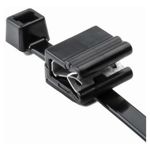 HellermannTyton 156-00589 Edge Clip w/ Cable; Non-Releasable.