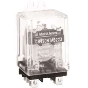 GE CR420HPA033J Relay, Ice Cube, 11 Blade, 2PDT, 25A, 120VAC Coil, 240VAC Rated