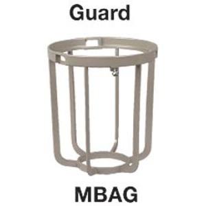 Hubbell-Killark MBAG Globe Guard, Epoxy/Polyester Painted Aluminum