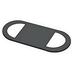"OZ Gedney GASK575 Conduit Body Gasket, Solid, Form 7, Size: 1-1/2"", Neoprene"