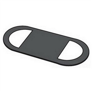 "Eagle Gasket GASK579 Conduit Body Gasket, Type Solid, Form 7, Size: 3-1/2 to 4"", Neoprene"