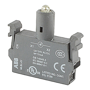 ABB MLBL-01Y Lamp Block With Integrated Led, 24
