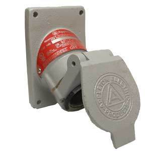 Appleton EFSR-2023 Replacement Receptacle, 20A, 3P, 2W, Aluminum