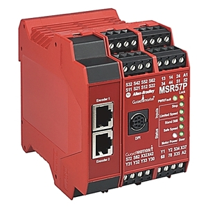 Allen-Bradley 440R-S845AER-NNL Relay, Specialty Safety, MSR57P, Safe Speed and Standstill Monitor