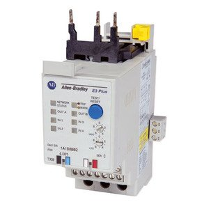 Allen-Bradley 193-EC3ZZ Relay, Motor Protection, Panel Mount, 9 - 5000A, 4 Input, 2 Output