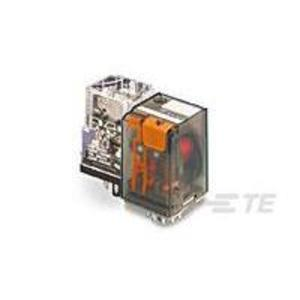 Tyco Electronics KRP-14AN-120 Relay, Ice Cube, 10A, 11-Pin, 3PDT, 120VAC Coil, Indicator Lamp