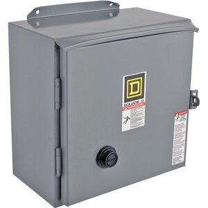 Square D 8736SDA1V06 Starter, Size 2, 45A, 600VAC, 480VAC Coil, Reversing, NEMA 12, 3P