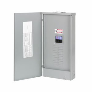 Eaton CH24BPN100E Load Center, Main Breaker, 100A, 120/240VAC, 1PH, 24/24, NEMA 1