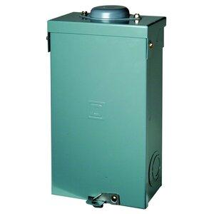 Square D QO2100BNRB Breaker, Enclosure, 100A, 2P, 120/240VAC, Solid Neutral, NEMA 3R