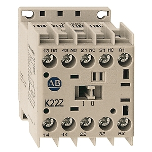 Allen-Bradley 700-K31Z-ZJ Relay, Control, 10A, 24VDC, 3NO Contacts, 1NC Contact