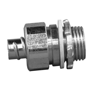 """Appleton 4QS-75T Liquidtight Connector, Straight, 3/4"""", Insulated, Steel"""