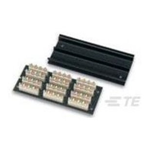 Tyco Electronics 2111682-1 Wiring Block, Cat 5e/6, for Under Carpet, Round to Flat Cable