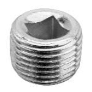 """Cooper Crouse-Hinds PLG8M Plug, Recessed, Size: 3"""", Material: Cast Iron"""