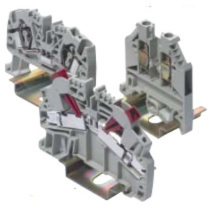 "GE CR451WNFB04B00G Terminal Block, Fuse Holder, 10mm, 1/4"" Fuse, 50 per Package"