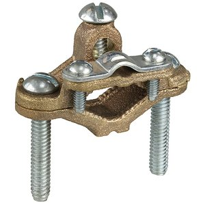 "Dottie 28 1-1/4 To 2"" Armored Ground Clamp Bronze"