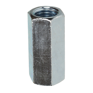 "Dottie RRC32 Threaded Rod Reducing Coupling, 1/2"" to 3/8"", Zinc Plated"