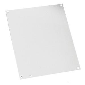 "Hoffman A16N12P Panel For Enclosure, Size: 16"" x 12"", NEMA 1/3R,  Steel/White"