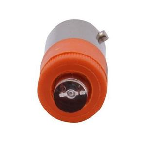 GE 080BA9S120LA Indicator lamp, LED, Orange, 120VAC