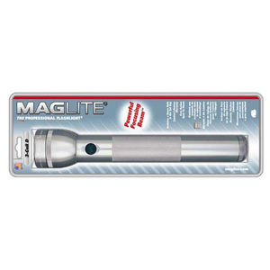 Maglite S3D096 ML S3D096 3 CELL D FLASHLIGHT GRAY