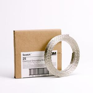 "3M 25 Grounding Braid 1/2"" X 15', Tinned Electrolytic Copper"