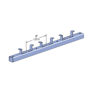 "Unistrut P3270WC-PG 1-5/8"" X 1-3/8"" Channel"