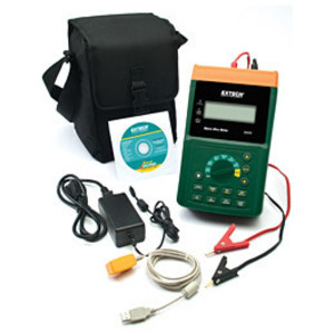 Extech UM200 Micro-Ohm Meter, LCD, 10A