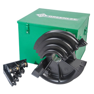 "Greenlee 12586 PVC Coated Rigid Shoe Kit, EMT Diameter: 1/2"" - 2"""