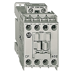 Allen-Bradley 700-CF400EJ Relay, Industrial, IEC, 4P, NO, 24VDC Coil, with Diode
