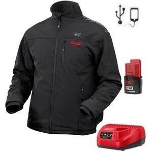 Milwaukee 2345-XL M12 Black Heated Jacket Kit XL