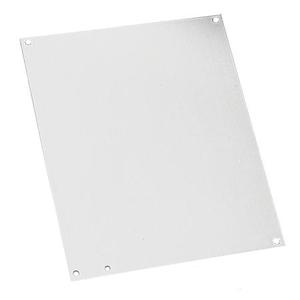"""Hoffman A20P16AL Panel For Enclosure, 20"""" x 16"""", Type 3R, 4, 4X, 12/13, Aluminum"""