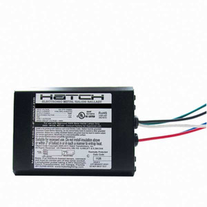 Hatch MC70-1-J-UNNU Electronic J-Can Ballast, Metal Halide, 70W, 120-277V