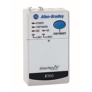 Allen-Bradley 193-ECM-ETR Overload Relay, Electronic, Communications Module, EtherNet/IP