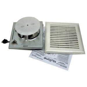 Nutone 696RNB Low Profile Fan, 50 CFM